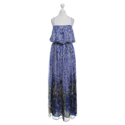 Liu Jo Silk dress with floral pattern