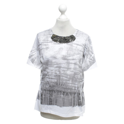 Dorothee Schumacher top in grey / white