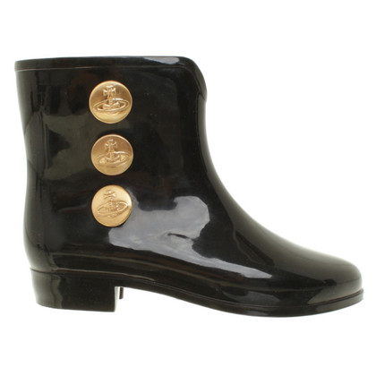 Vivienne Westwood Rubber boots in black