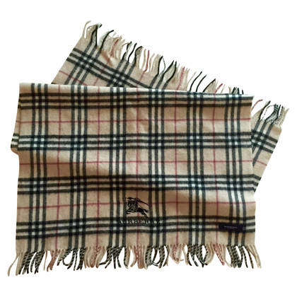 Burberry Wool scarf in beige