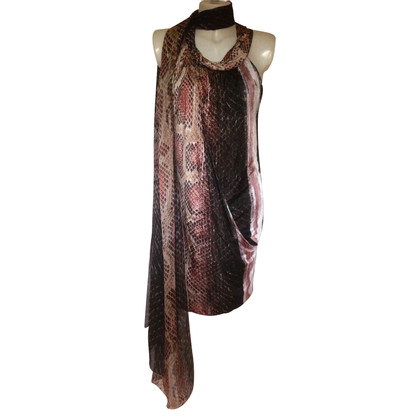 Roberto Cavalli Dress with snake print