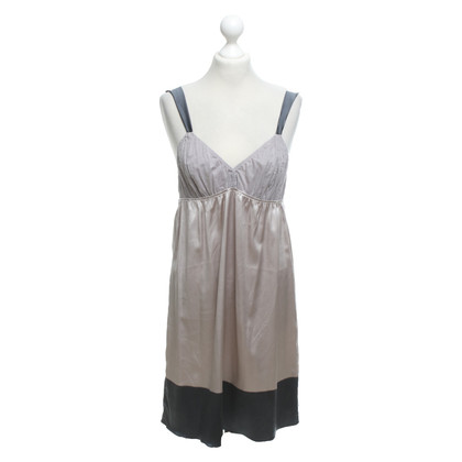 Marni Silk dress in grey