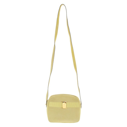 Salvatore Ferragamo Shoulder bag in yellow