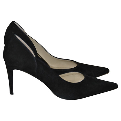 Max Mara Wildleder-Pumps