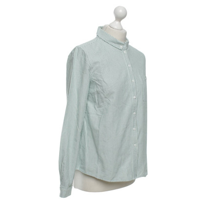 Cos Camicia in verde / bianco
