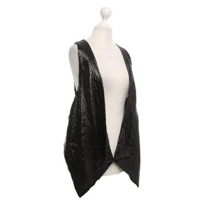 Karen Millen Vest with sequin trim