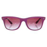 Ray Ban Lunettes de soleil en rose