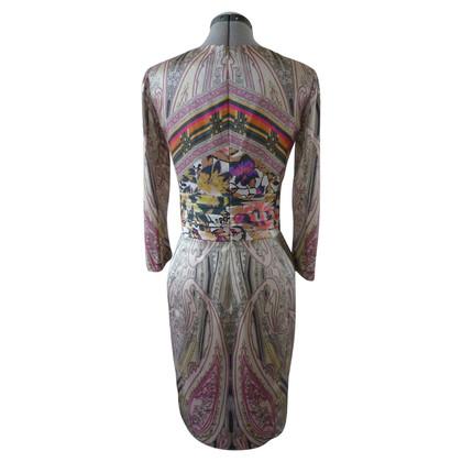Etro Bedrucktes Seidenkleid