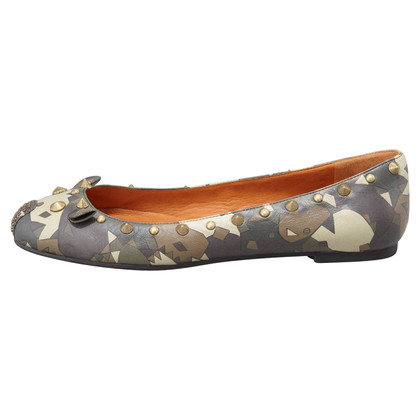 Marc Jacobs Camouflage studded mouse ballerina