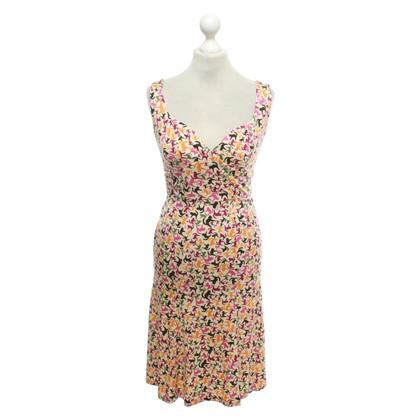 Issa zijden jurk met print