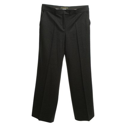 Etro Wool trousers in green