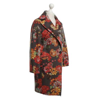 Karen Millen Coat met een bloemmotief