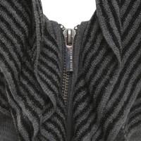 Karen Millen Strickkleid in Grau