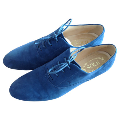 Tod's Lace-up shoes in blue