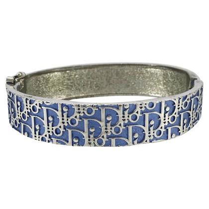 Christian Dior Bracciale Clamper Trotter Blu