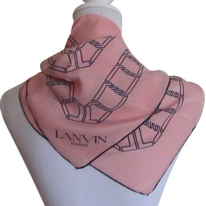 Lanvin zijden sjaal
