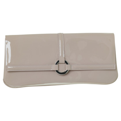 L.K. Bennett clutch in nude