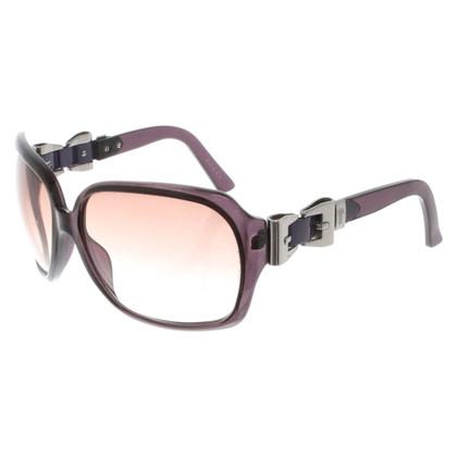 Gucci Zonnebril in violet