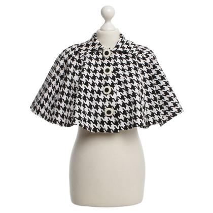 Christian Dior Vest met houndstoothpatroon