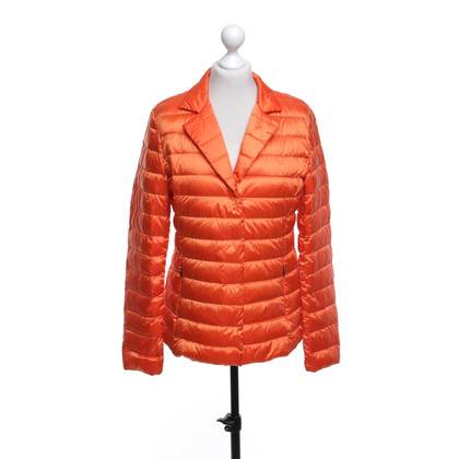 Max Mara Gewatteerde jas in Orange