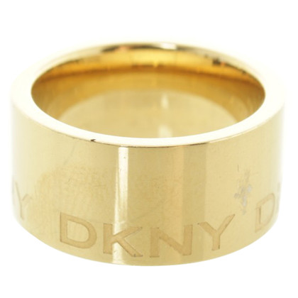 DKNY Gold colored ring