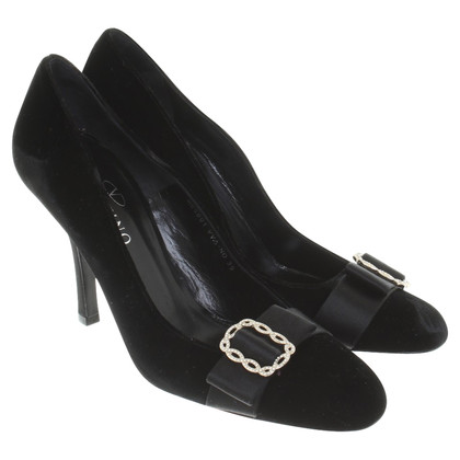 Valentino pumps of velvet