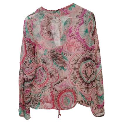 Antik Batik Seidenbluse