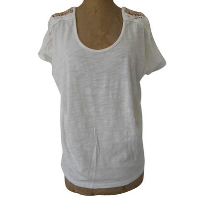 Velvet T-shirt en blanc