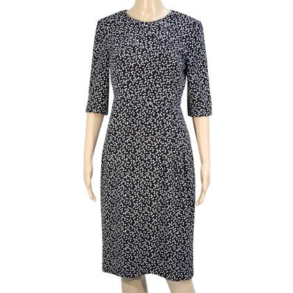 L.K. Bennett Kleid in Schwarz/Weiß