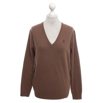 Ralph Lauren Cashmere sweater in brown