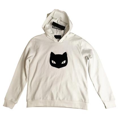 Karl Lagerfeld Hoodie mit Katzenkopf