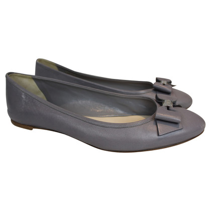 Christian Dior Gray ballerinas with bow
