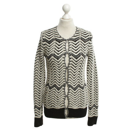 Maje Sweater with pattern