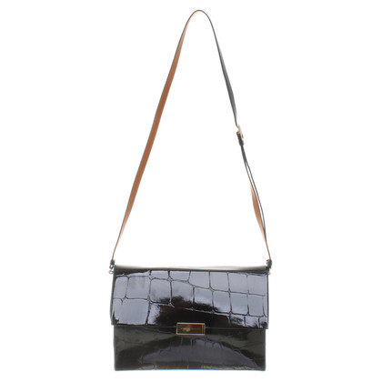 Stella McCartney Shoulder bag in crocodile look