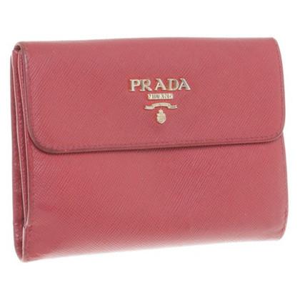 Prada Portemonnaie in Rot