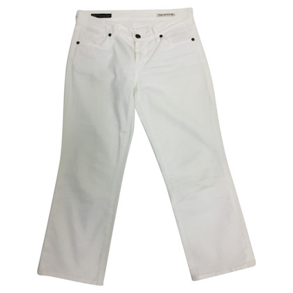 Citizens of Humanity Pantalon 7/8 en blanc
