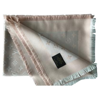 Louis Vuitton Monogram denim cloth in pink