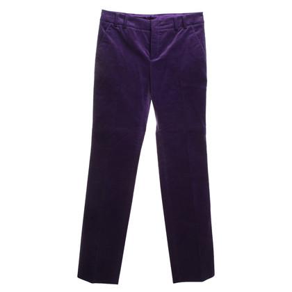 Gucci Samthose in Violett