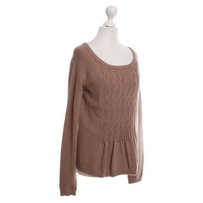 Comptoir des Cotonniers Knitted sweater in light brown