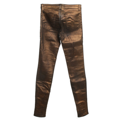 J Brand Jeans with bronze coating