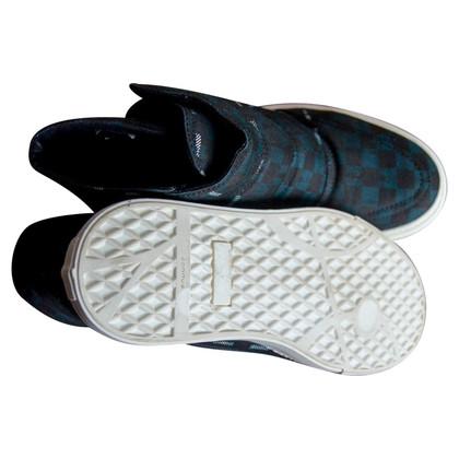 Alexander McQueen Tartan Hi-top sneakers