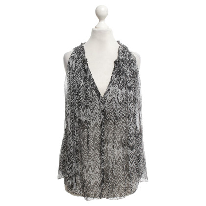 Isabel Marant top with pattern