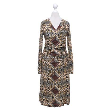 Etro Tailliertes Kleid mit Muster
