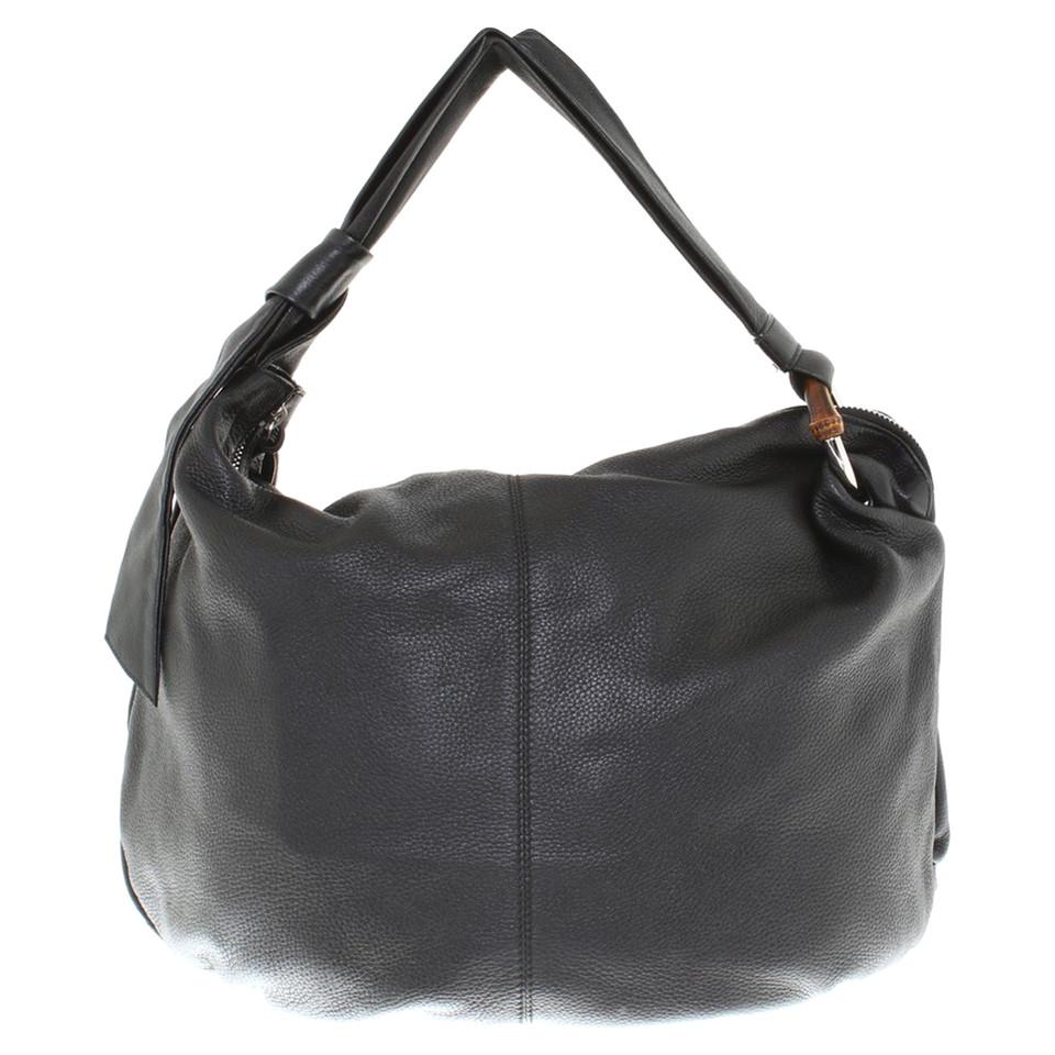 gucci sac en cuir sac acheter gucci sac en cuir sac second hand d 39 occasion pour 390 00 2362901. Black Bedroom Furniture Sets. Home Design Ideas