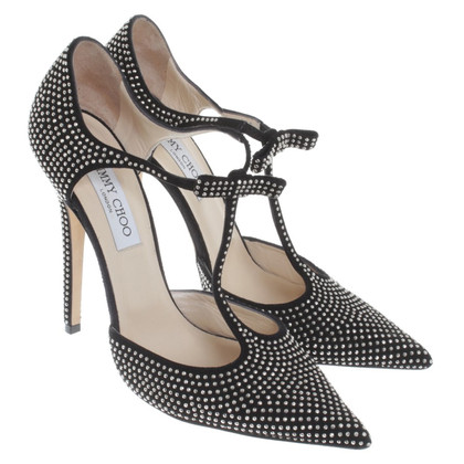 Jimmy Choo pumps in zwart / Gold
