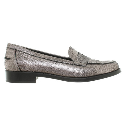 Tod's Silver colored Loafer