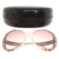 Roberto Cavalli Sunglasses with reptile pattern