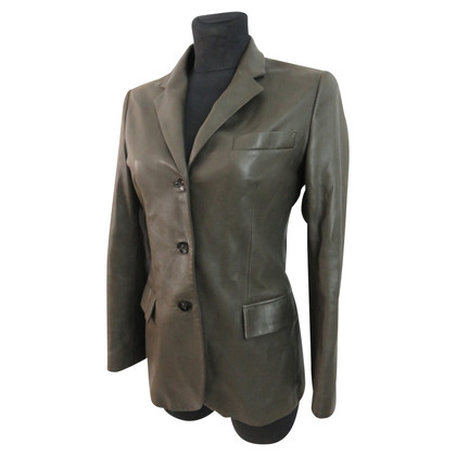 Loro Piana Elegant leather blazer