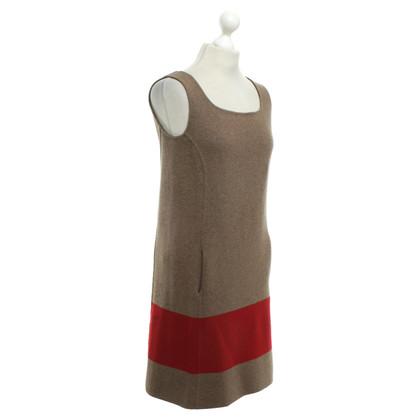 Loro Piana Cashmere Dress in Black / Red