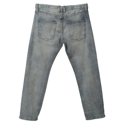 Current Elliott Boyfriend jeans met borduursel